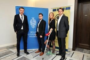 Warsaw Negotiation Round 2015 WNR negocjacje w Senacie - reprezentacja Polski z trenerem