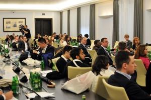 Warsaw Negotiation Round 2015 WNR negocjacjowanie w Senacie
