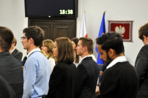 Warsaw Negotiation Round 2015 WNR negocjacjacje biznesowe w Senacie RP - marszałek Senatu