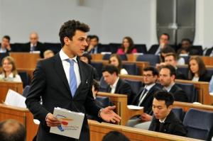 Warsaw Negotiation Round 2015 WNR negocjacjacje biznesowe w Senacie RP - runda finałowa - przemówienia