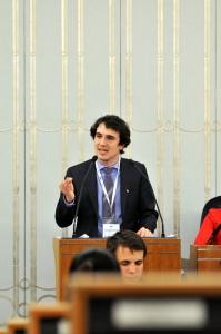 międzynarodowe zawody negocjacyjne, przemówienia