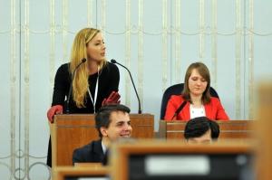 Warsaw NEGOTIATION ROUND 2015 przemówienia perswazyjne w Senacie