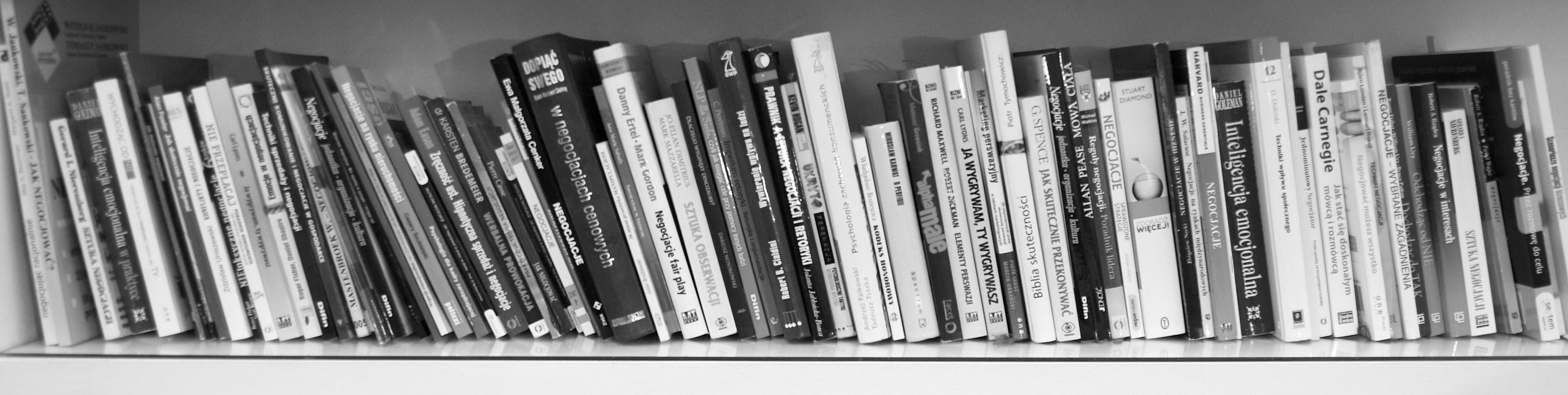 bibliografia negocjacje, książki o negocjacjach