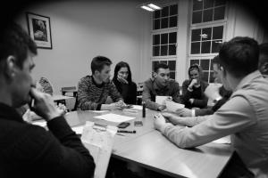 przygotowania do turnieju negocjacyjnego Warsaw Negotiation Round 3 (6)
