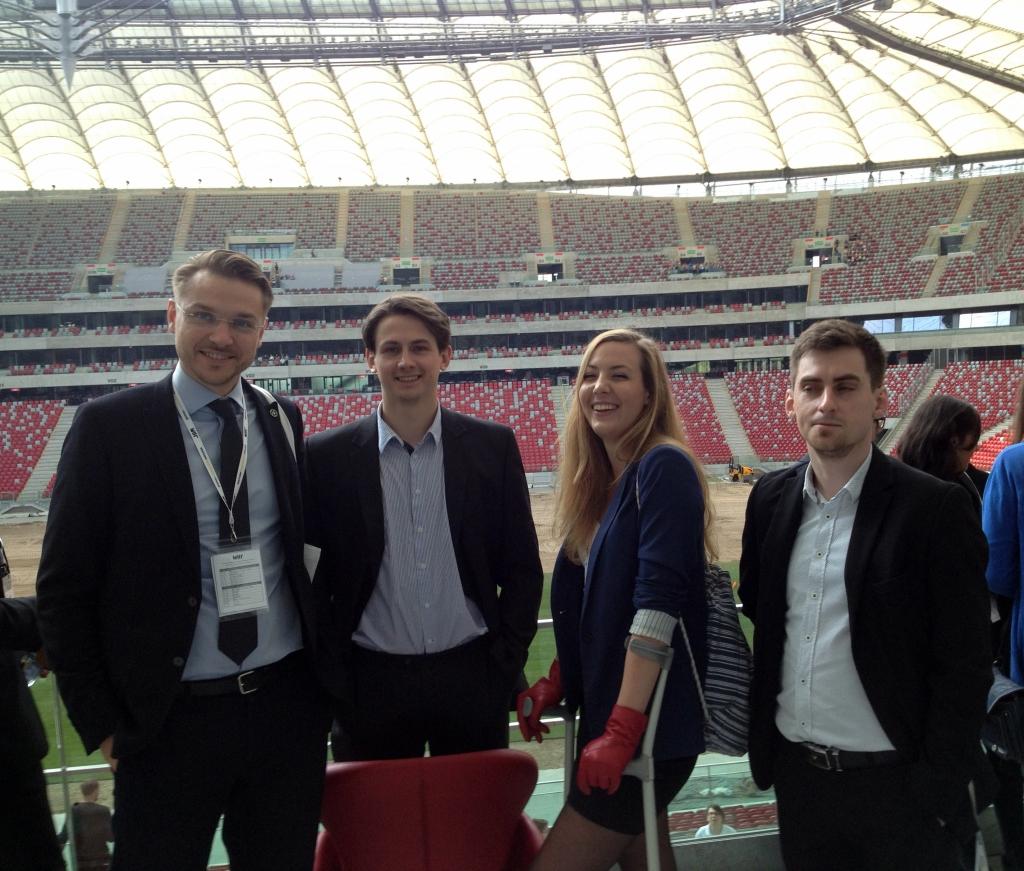 Negocjacje WNR 2015 Stadion Narodowy