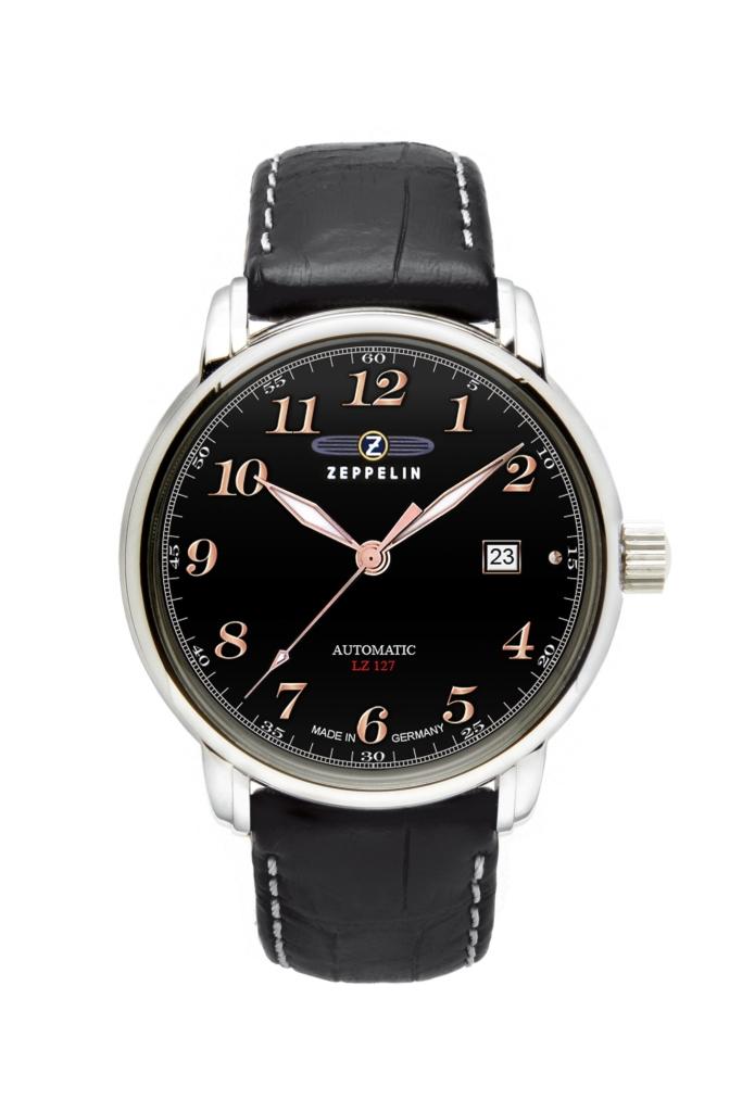 ubiór strój negocjatora - zegarek zeppelin